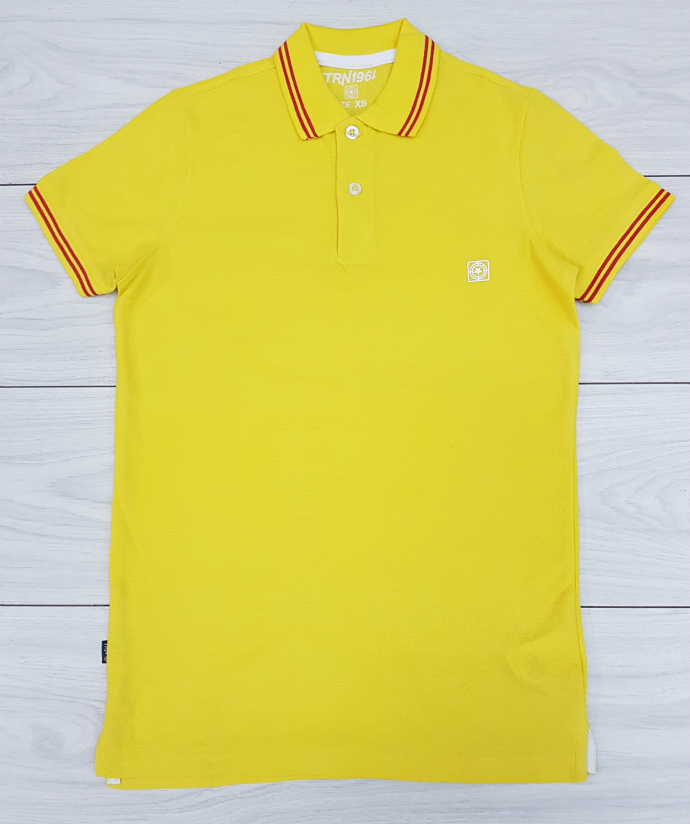 TRN1961 Mens Polo T-Shirt (YELLOW) (XXS - XS - S - M - L - XL - XXL)