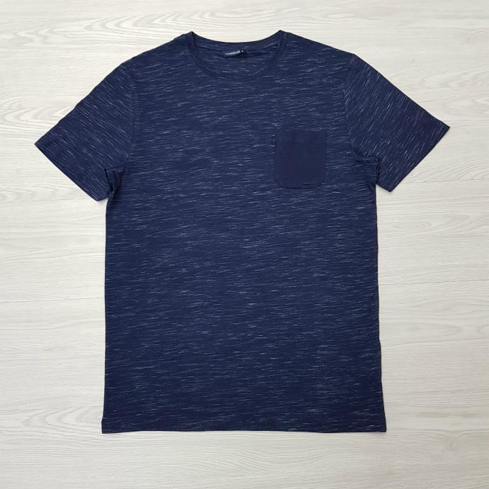 THE BASICS Mens T-Shirt (NAVY) (S - M - L - XL - XXL - 3XL)