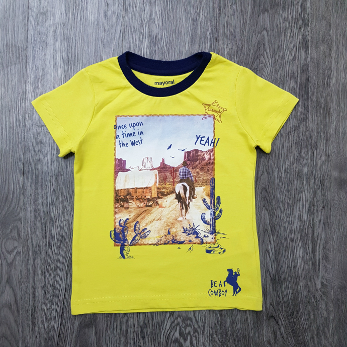 MAYORAL Boys T-Shirt (YELLOW) (2 to 9 Years)