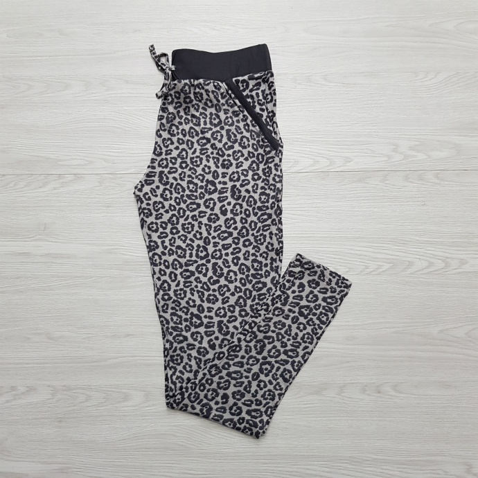AVENUE Ladies Pyjama (BLACK-GRAY) (S - M - L - XL)