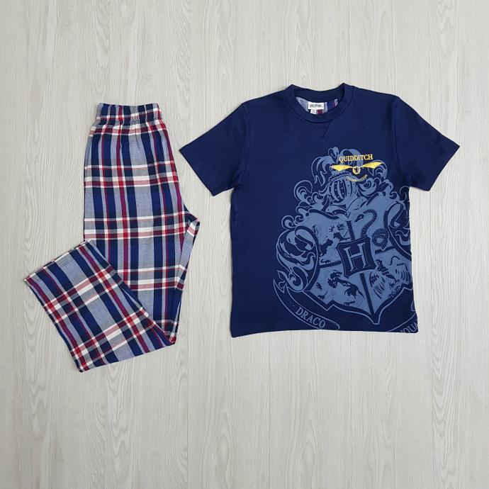 HARRY POTTER Boys 2 Pcs Pyjama Set ( BLUE ) (8 to 14 Years)