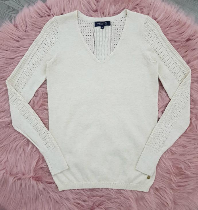 INSTINCT Ladies Sweater (CREAM) (XS - S - M - L - XL - XXL)