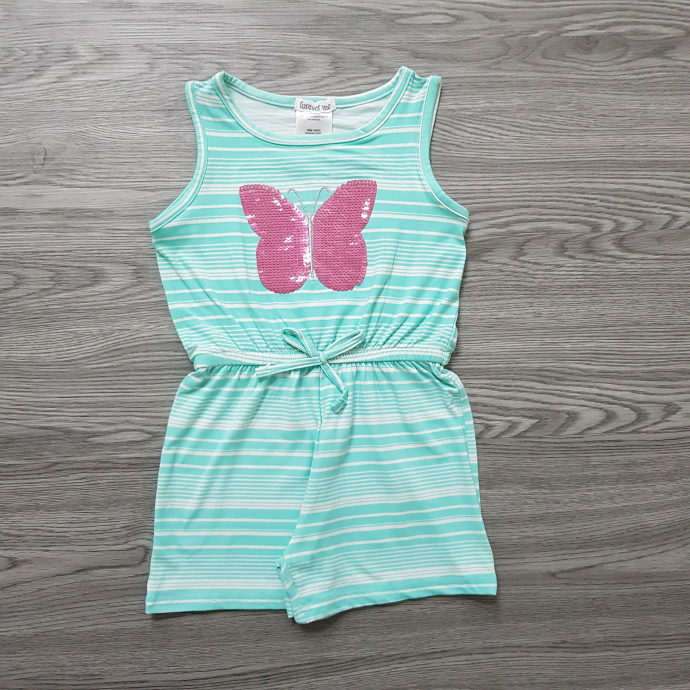 FOREVER ME Girls Romper (BLUE) (3 to 6 Years)