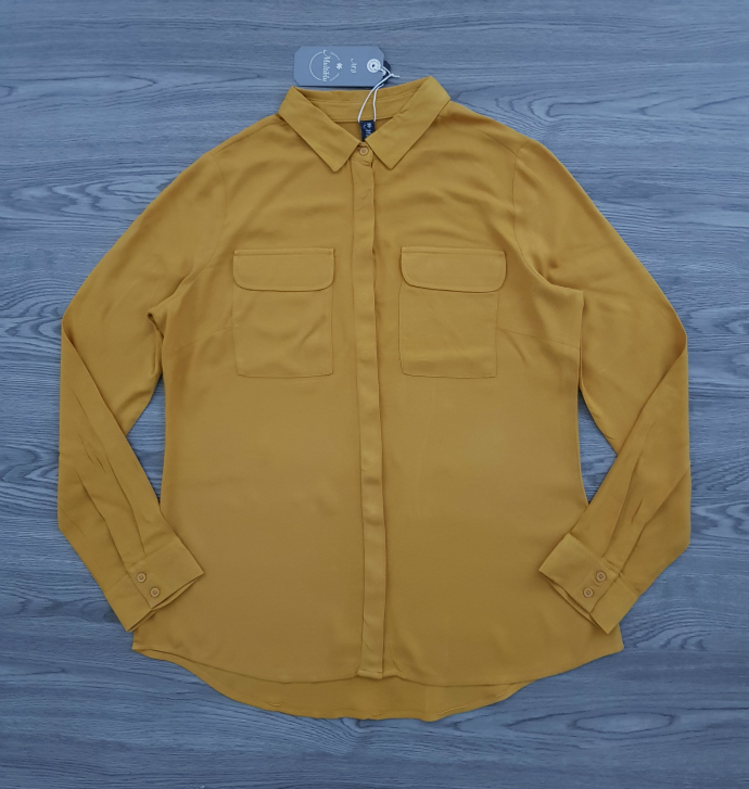 MULTIBLU Ladies Blouse (YELLOW) (36 to 46)