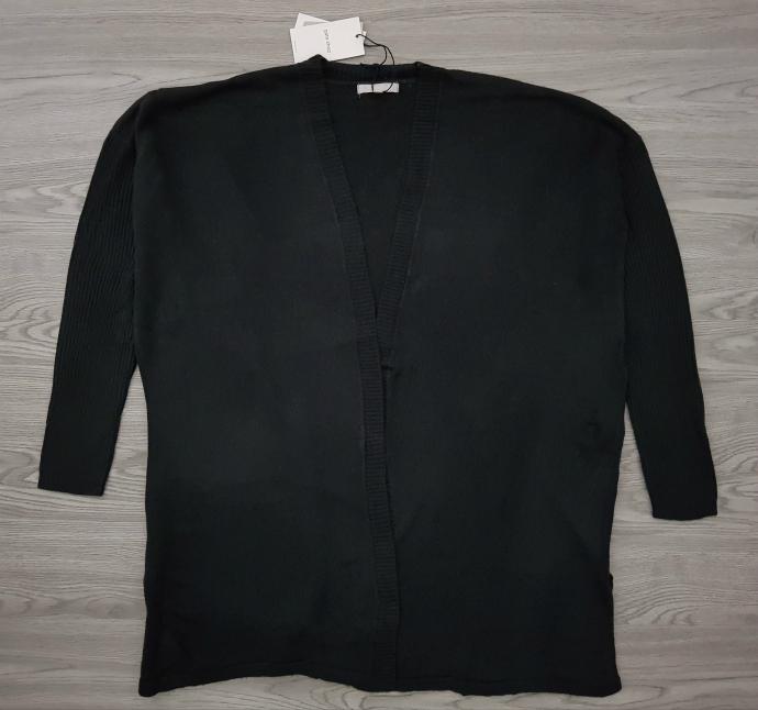 OFFICE CHIC Ladies Cardigen (BLACK) (34 to 42 EURO)
