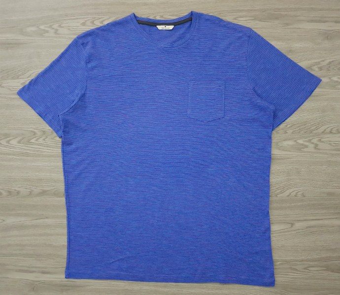 TOM TAILOR Mens T-Shirt (BLUE) (S - M - L - XL - XXL - 3XL)