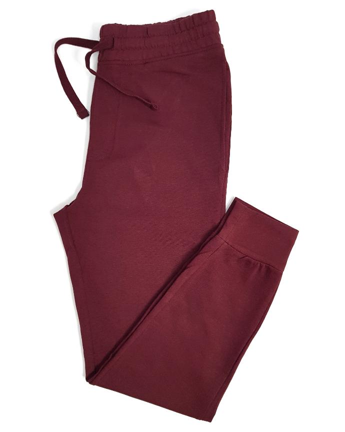 BASIC COLLECTION Mens Pants (MAROON) (S - M - L - XL)