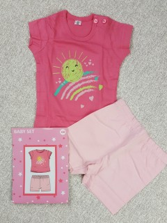 Girls Top And Shorts Set (6 to 15 Months )