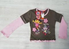 disney DORA Girls Long Sleeved Shirt (2 to 7 Years )