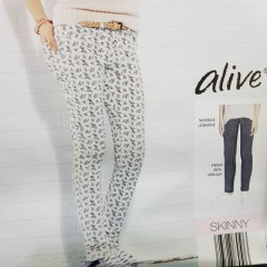ALIVE Slim Fit Girls Pants (6 to 14 Years)
