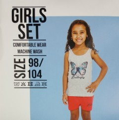 Girls Top And Shorts Set ( 3 to 10 Years )