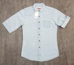 CASTRO Mens Shirt (LIGHT BLUE) (XS - S - M - L - XL - XXL )