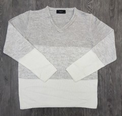 famock Mens Long Sleeved Shirt (GRAY) (M - L - XL)