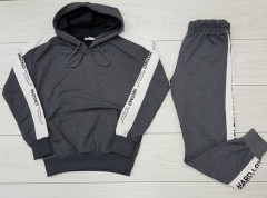 SNOW Ladies Sweatshirt And Pants (DARK GGRAY) (S - M)