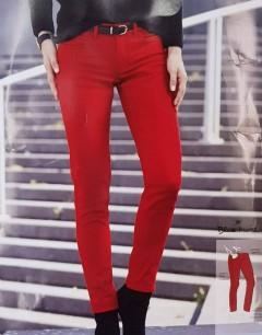 BLUE MOTION Ladies Damen - Stretchhose (RED) (LP) (36 to 44)