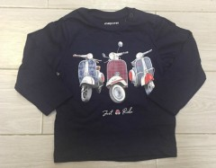 PM Boys Long Sleeved Shirt (PM) (6 to 24 Months)