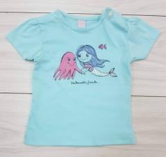 Girls T-Shirt (BLUE) (LP) (FM) (6 Months to 2 Years )