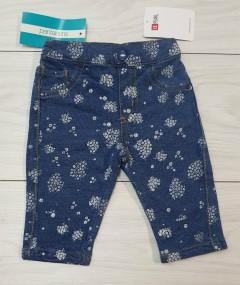 Girls Short Jeans (BLUE) (LP) (FM) (3 to 24 Months)
