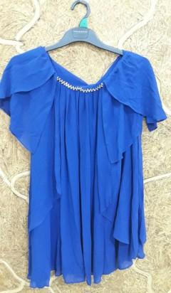 Ladies Dress (BLUE) (LC) (S - M - L)