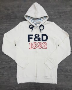 P&D Mens Hoodie (WHITE) (XS - S - M - L - XL)