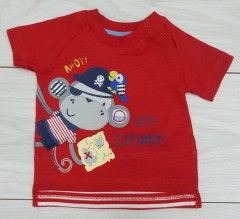 Boys T-Shirt (RED) (FM) (NewBorn to 24 Months)