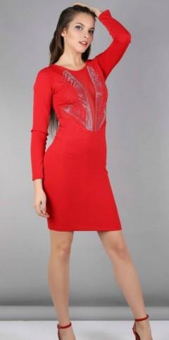MIXVIRAGE Ladies Turkey Dress (RED) (S - M - L - XL)