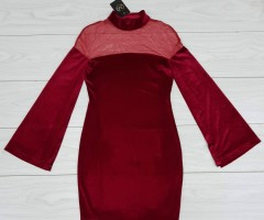 MIXVIRACE Ladies Turkey Dress (RED) (S)