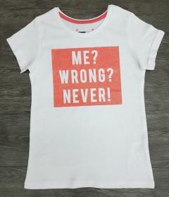 Girls T-Shirt (WHITE) (7 to 15 Years)