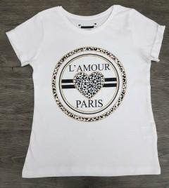 Girls T-Shirt (WHITE) (7 to 13 Years)