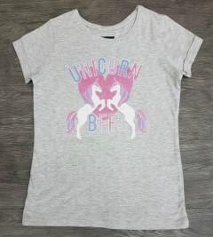 Girls T-Shirt (GRAY) (7 to 13 Years)