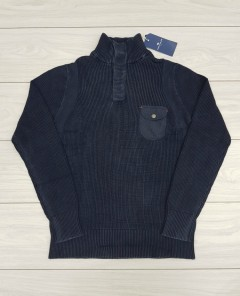 TOM TAILOR Mens Sweater (NAVY) (XXS - XS - S - M - L - XL - XXL - XXXL)