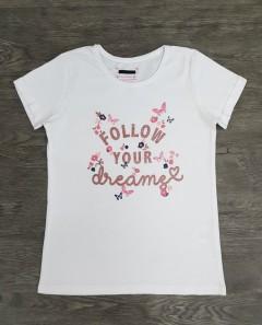 Girls T-Shirt (WHITE) (9 to 11 Years)