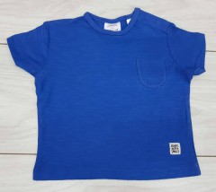 ZARA  Boys T-Shirt (BLUE) (3 Months to 3 Years)