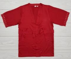 ESMARA Ladies Nighty (RED) (XXS - XS - S - M - L - XL - XXL)