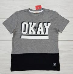 FOX Boys T-Shirt (GREY) (8 Years)