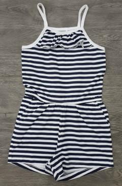 Girls Dress (BLACK - WHITE) (3 to 14 Years)