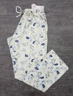 BASICS Ladies Pyjama (WHITE) (XXS - XS - S - M - L - XL - XXL - 3XL)