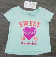 VERTBAUDET Girls T-Shirt (BLUE) (2 to 8 Years)