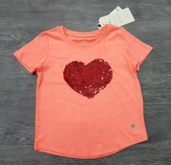 TOM TAILOR Girls T-Shirt (PINK) (2 to 9 Years)