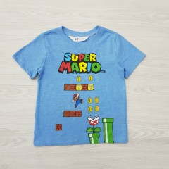 HM Boys T-Shirt (BLUE) (2 to 10 Years)