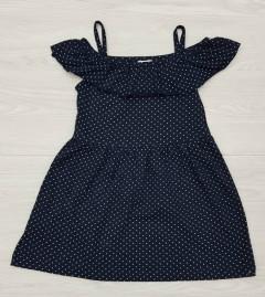 AKKU Girls Dress (BLACK) (5 to 8 Years)