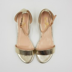CLOWSE Ladies Sandals Shoes (GOLD) (36 to 41)