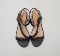 CLOWSE Ladies Sandals Shoes (DARK GRAY) (36 to 41)
