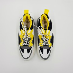 CLOWSE Ladies Shoes (WHITE - YELLOW) (36 to 41)