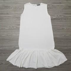 NEW HB BLUE Ladies Turkey Long Dress  (WHITE)(S-M-L-XL)