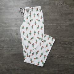 LAVIE EN ROSE Ladies Pants (WHITE) ( XS - S - M- L - XL - XXL)