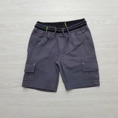 WONDER NATION  Boys Shorts (DARK GRAY) (4 to 18)