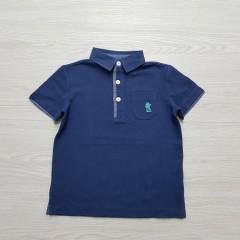 ORIGINAL MARINES Boys Polo Shirt (NAVY) (2 to 13 Years)