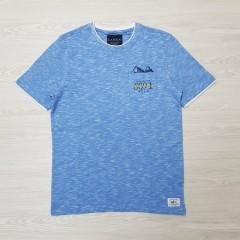 CANADA Mens T-Shirt (BLUE) (S - M - L - XL - XXL - 3XL)