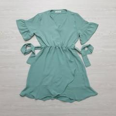 RUBY Ladies Turkey Dress (GREEN) (S - M - L)